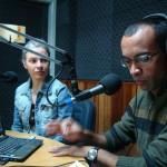 Entrevista na rádio de Jacarezinho